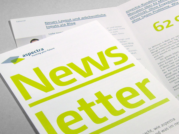 Newsletter, aspectra